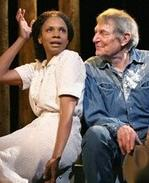 Audra McDonald as Lizzy Curry and John Cullum as her father