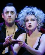 Cindy Lauper and  Alan Cumming