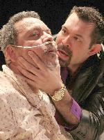 Jose Febus as Nestor & Bryant Mason as Jaime in Acts of Mercy: a passion-play