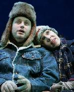 Todd Ceveris &  Finnerty Stevens in <i>Almost Maine</i>