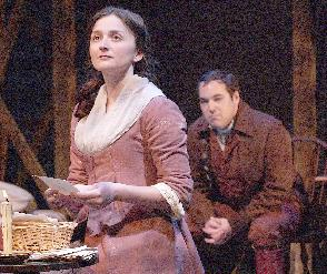 Tahitia McKown as Abigail Adams and Brian Wallace as John Adams
