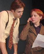 Ryan Gilreath & Kathleen Carey in Boy Gets Girl at The Theater Barn
