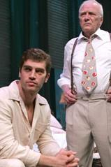 "Jeremy Davidson as an aptly ""hunky""  Brick and George Grizzard as Big Daddy"