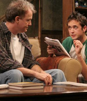 Reed Birney & Justin Chatwin in Dark Matters