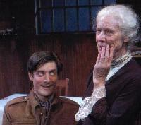 "Gareth Saxe and Frances Sternhagen in ""The Old Lady Shows Her Medals"""