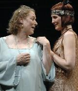 Diane Prusha and Corinna May  in Enchanted April