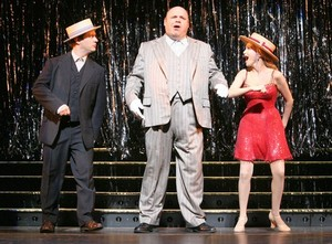 Christopher Fitzgerald, Kevin Chamberlin & Kristin Chenoweth