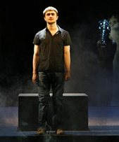 Daniel Radcliff in the Broadway Production of Equus.