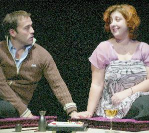 Jeremy Piven and Ashlie Atkinson