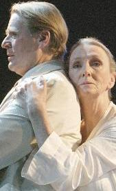 Kathleen Chalfant and David Rasche