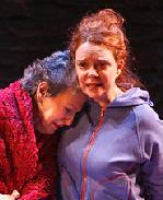 Catherine Wolf and Deirdre O'Connell in Fugue