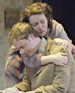 Tom Story and Kate Maguire in  The Glass Menagerie.