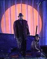 Wendell Pierce  & J Kyle Manzay In Waiting for Godot