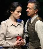 David Strathairn as Martin Heidegger and Melissa Friedman as  Hannah Arendt and Martin Heidegger