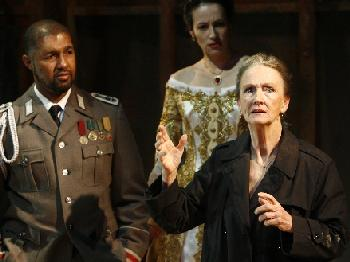 Dion Graham, Melissa Friedman and Kathleen Chalfant in a scene from Epic Theatre Ensemble's production of A Hard Heart