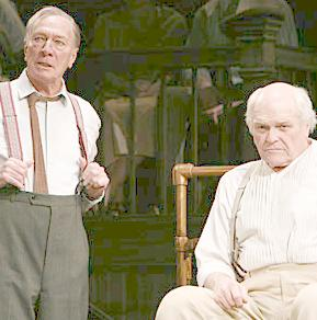 Christopher Plummer and Brian Dennehy in  Inherit the Wind