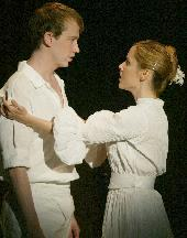 Tyler Maynard as Fernando & and Kerry Butler as his mother Isabel.