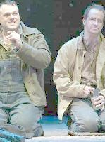 Scott Greer and Anthony Lawton in Of Mice and Men