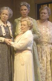 Debra Jo Rupp, Anita Gillette, Lucy Martin, and Joyce Van Patten  in Morning's at Seven
