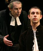 Richard Easton and  Jeremy Strong in  New Jerusalem