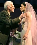John Mahoney and   Annie Parisse  in Prelude to a Kiss