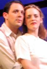 Eliza Baldi and Steve Kazee in <i>See Rock City</i>
