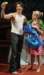 Andy Karl &  Mary Faber in <i>Slut </i>