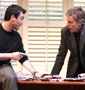 Jon Tenney as Bobby Gould and Greg Germann as Charlie Fox  Speed-the-Plow