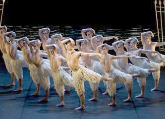 Matthew Bourne�s Swan Lake