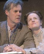 Jack Gilpin and Keira Naughton as Uncle Vanya and niece Sonya