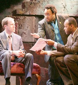 James Wallert, Jacob Ming-Trent and Godfrey L. Simmons, Jr. in  Widowers' Houses