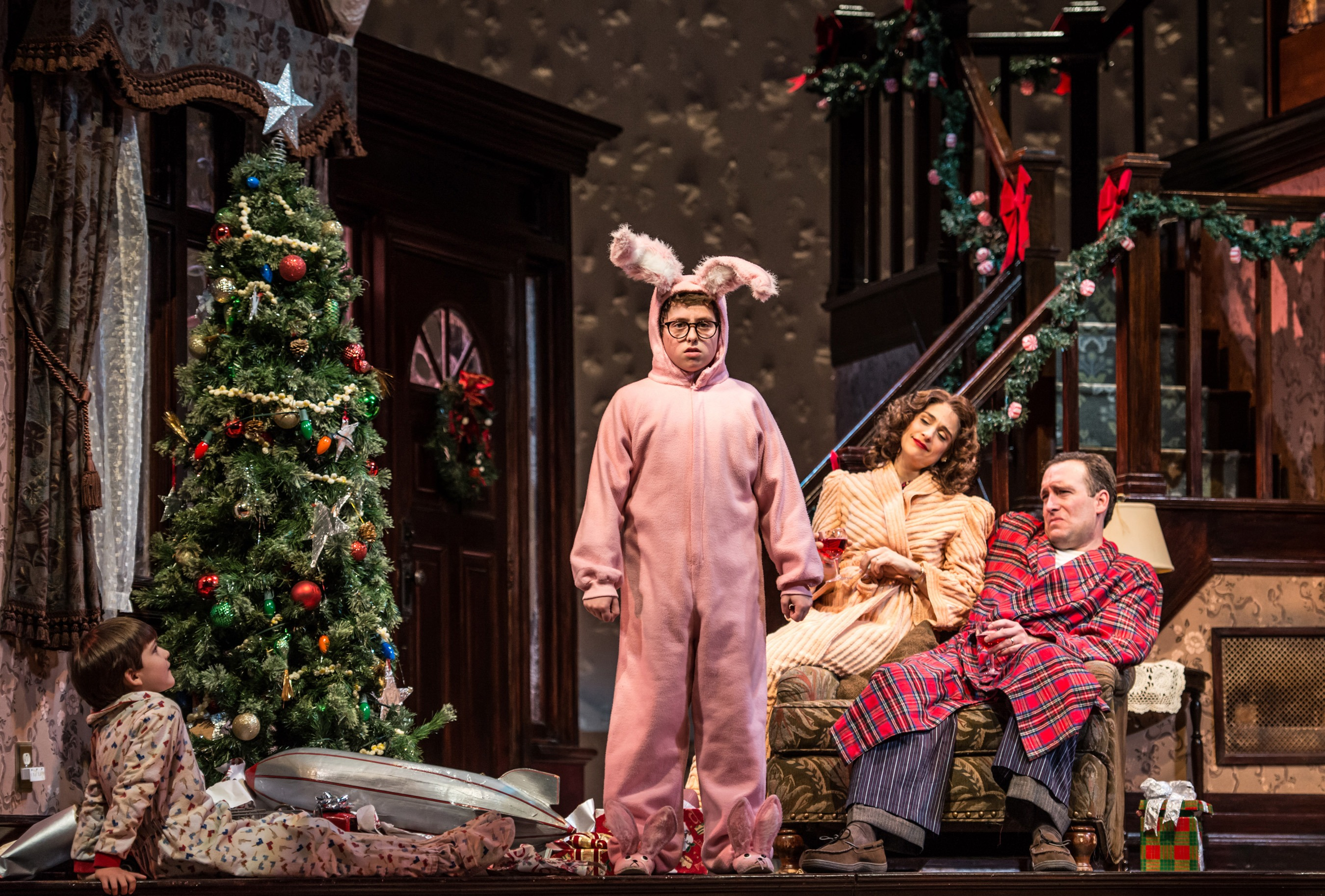 A Christmas Story, the Musical \'| a CurtainUp New Jersey review
